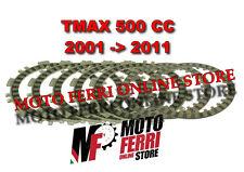 SERIE DISCHI FRIZIONE YAMAHA 500 TMAX 2001 2002 2003 2004 2005 2006 2007 2008