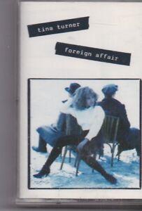 Tina Turner-Foreign Affair Music Cassette