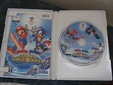 Wii Mario & Sonic at the Winter Olympic Games TESTED COMPLETE