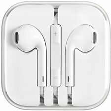 New Earphones EarBuds For iPhone 4, 5, 6 with Microphone and volume control