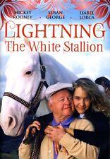 Rooney/George - Lightning The White Stallion (2012, DVD NEW)