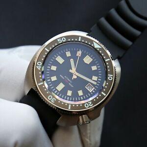 SteelDive Turtle 6105 Watch Seiko NH35A Capt. Willard Watch