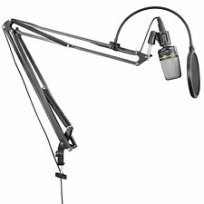 Neewer Studio Boom Scissor Arm Desktop Stand for Broadcast Podcast w/ XLR Cable