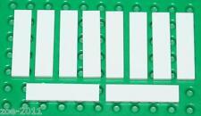 Lego 10x White Tile 1x4 NEW!!!