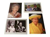 HM Queen Elizabeth II Postcard Diamond Jubilee 1952-2012 British Royal Souvenir