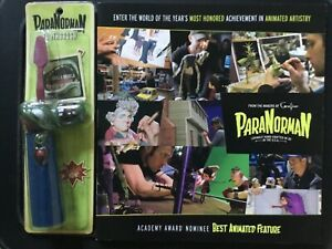 PARANORMAN Academy Nominee MAKING OF BOOK + Paranorman ZOMBIE TOOTHBRUSH Promo