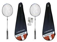 2 x Browning Nanoblade Ti Badminton Rackets + 3 Shuttles RRP £350