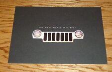 Original 2002 Jeep Liberty Sales Brochure 02