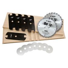 MIBRO 416381 8 Carbide Stacking Dado Blade Set - 14 Pieces
