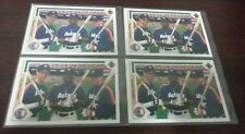"(4) 1991 Upper Deck Jeff Bagwell Luis Gonzalez ""Rookie Threats"" RC Card #702 Lot"