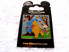 Disney * WINNIE the POOH & PIGLET - BLUSTERY DAY * New on Card Trading Pin