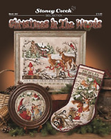 STONEY CREEK Cross Stitch Pattern Leaflet CHRISTMAS IN THE WOODS