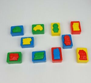 Shelcore Puzzle Blocks Building Toy Animals Cars People Preschool