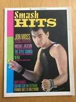 Smash Hits Magazine March 1984 Culture Club, FGTH, Paul WELLER, M.Jackson VGC