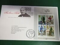 England Großbritannien  Block 2  aus 1979  FDC Briefmarkenausstellung 1980