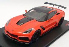 Top Speed 1/18 Scale TS0147 - 2018 Chevrolet Corvette C7 ZR-1 - Orange