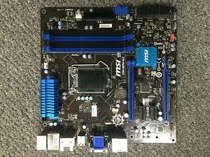 MSI CSM-H87M-G43 Motherboard DDR3 LGA 1150 HDMI with DVD DRIVE+ I/O Shield