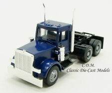 Peterbilt Day Cab Blue Tractor w/New Grill 1/87 HO Scale Herpa/Promotex 15285
