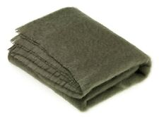 Distinction by Bronte Moon Mohair Moss Green Throw Blanket Rug Bed Sofa