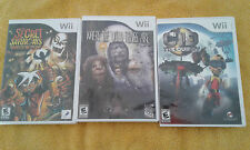 NINTENDO WII WHERE THE WILD THINGS ARE Cid the Dummy The Secret Saturdays
