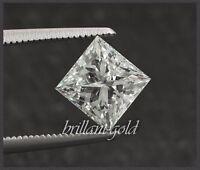 Diamant im Prinzess Schliff von 0,10-0,25ct echt & natürlich mit Zertifikat