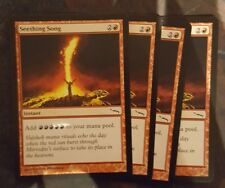 Mtg seething song x 1 great condition