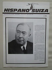 REVUE HISPANO-SUIZA 1965 16 HEURTEUX VILLE LUNAIRE LUNE CIGOGNE GUYNEMER GEMINI
