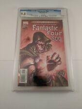Fantastic Four #500 (#71)  Marvel Comics Directors Cut Foil Cover CGC Graded 9.8