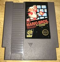 SUPER MARIO BROS. 5-Screw FIRST PRINT NO TM NES Cart WORKING Nintendo 1985 RARE