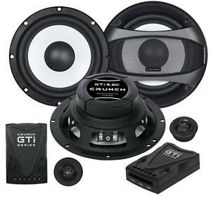 Crunch GTI6.2C 16,5 cm Komponenten-Lautsprecher 200 Watt RMS: 100 Watt