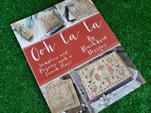 Ooh La La Cross Stitch Pattern Booklet by Blackbird Designs - 12 Projects