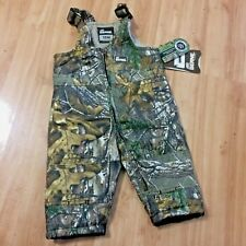 Realtree Bernie Outdoor Camo Bib Overalls Size 12m Real Tree Camouflage Hunting