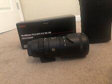 Sigma EX DG 70-200mm f/2.8 APO EX DG OS  Lens For Sony