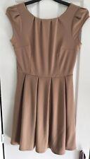 Dorothy Perkins Nude Skater / Tea Dress - Size 12