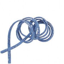 Liberty of London Cotton Ribbon Cord 4mm Light Blue Capel Design 1 Metre (H58/9)