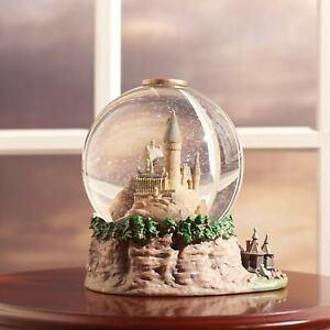 Hogwarts Castle Snowglobe - Harry Potter Wizard School Water Globe Collectible