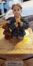 Boyds-Dollstone Yesterdays Child-Peter with James.The Prayer-#3545-06