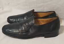 Massimo Emporio Shoes Loafers Black Size 10.5