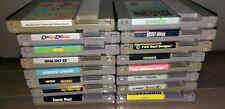 Retro Gaming Original Nintendo NES Games Choose From Selection