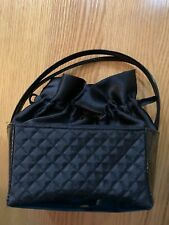 Girls small handbag black good condition