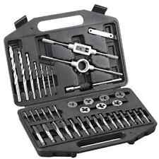 Boîte à outils 39 pièces pour moto - Jeu de filières et tarauds en métrique
