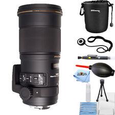 Sigma 180mm f/2.8 APO Macro EX DG OS HSM Lens (for Nikon) STARTER BUNDLE NEW