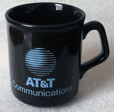 AT&T COMMUNICATIONS black mug Made in England