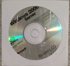Microsoft Windows 2000 Server - Student Edition - OS install CD