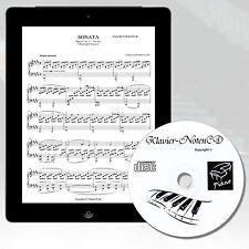 KLAVIERNOTEN MEGA SAMMLUNG auf CD Klavier Keyboard, Digitalpiano zum Ausdruckenc