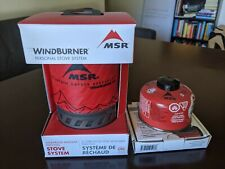 Msr Windburner 1.0l Personal Stove Unisex Adventure Gear Cooking System - Red