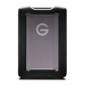 SanDisk Professional G DRIVE ArmorATD 4TB Rugged Portable Hard Drive Space Gray