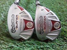 TaylorMade Burner 19* 3 + 22* 4 Rescue Hybrids (2pc) Golf Clubs Regular Flex