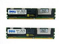 SNPCR832CK2/8G DELL 8GB 2X4GB 800mhz PC2-6400 240-Pin FBDIMM 2RX4 TESTED