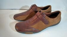 Naturalizer Carlo Women's Shoe Brown Suede Leather Slip On Size 10 N